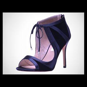 NINA Women's Cherie Dress Sandal, CVS-Midnight 10M